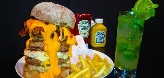 Babilônia e Mojito - J's Fine Burger
