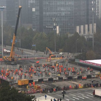 Chineses reconstroem ponte em 43 horas - Ideagrid _02
